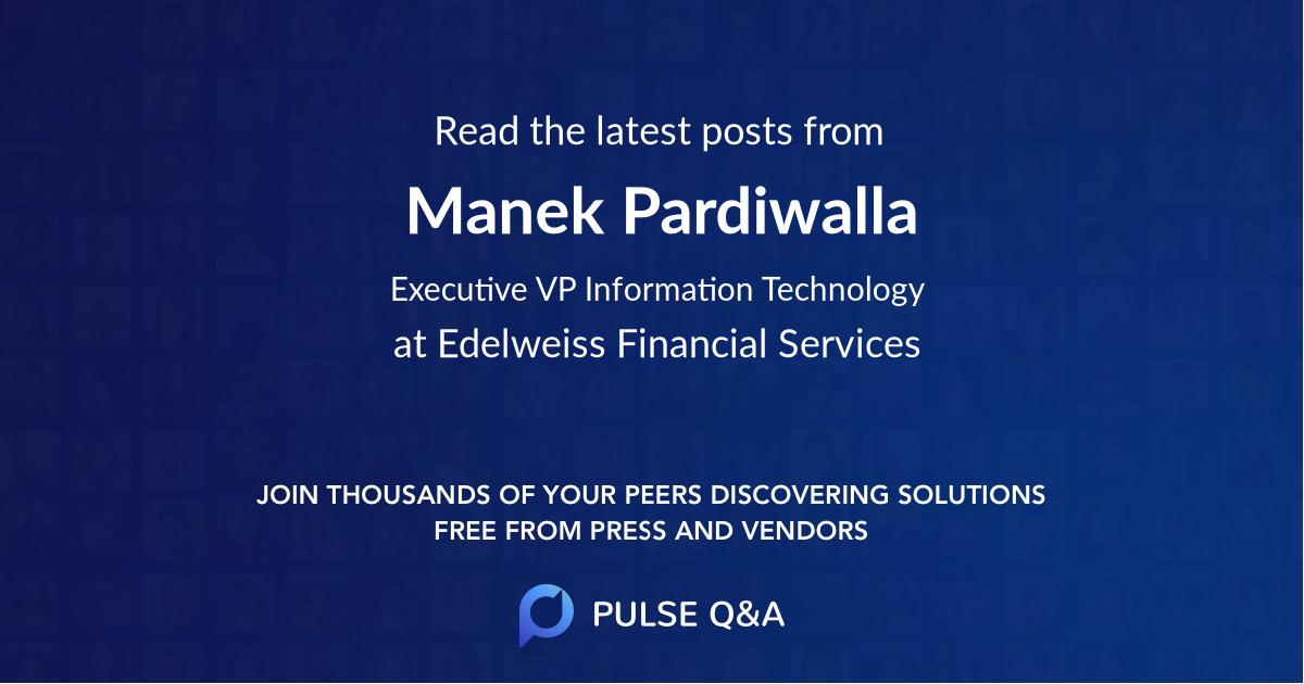 Manek Pardiwalla