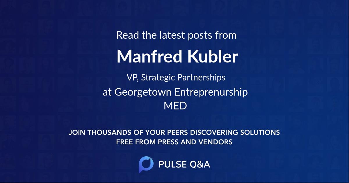 Manfred Kubler