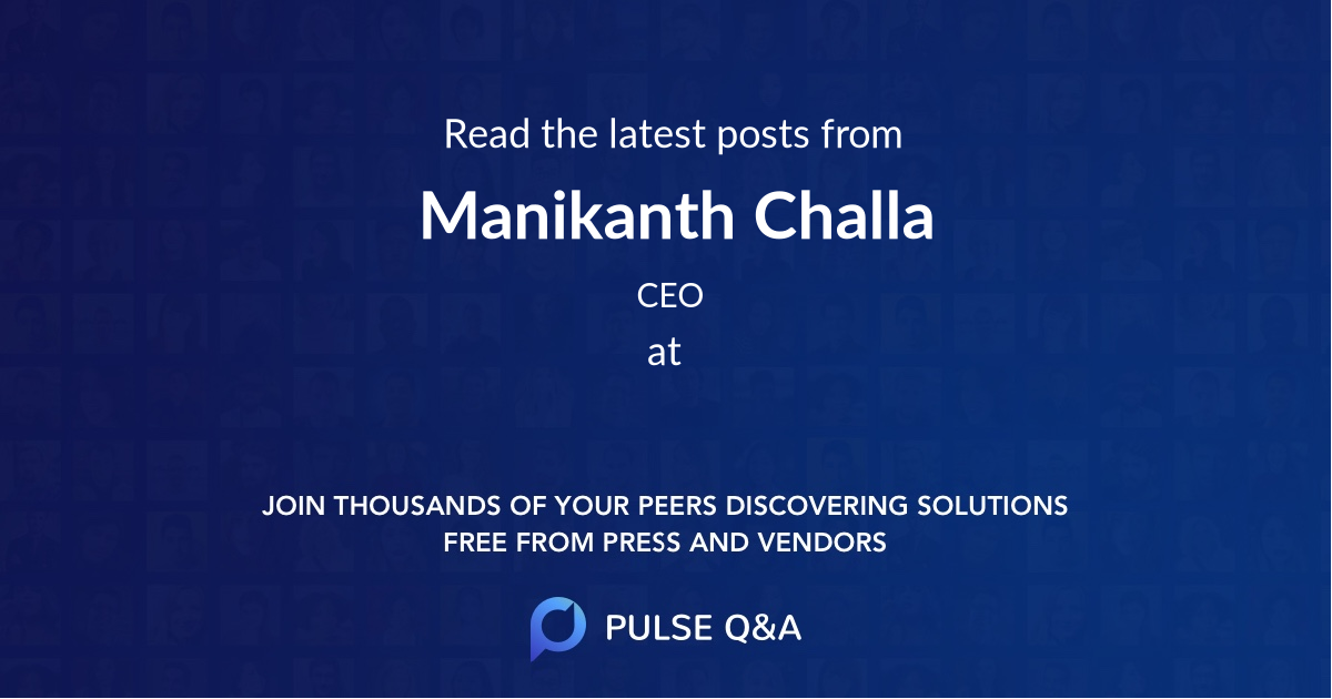 Manikanth Challa