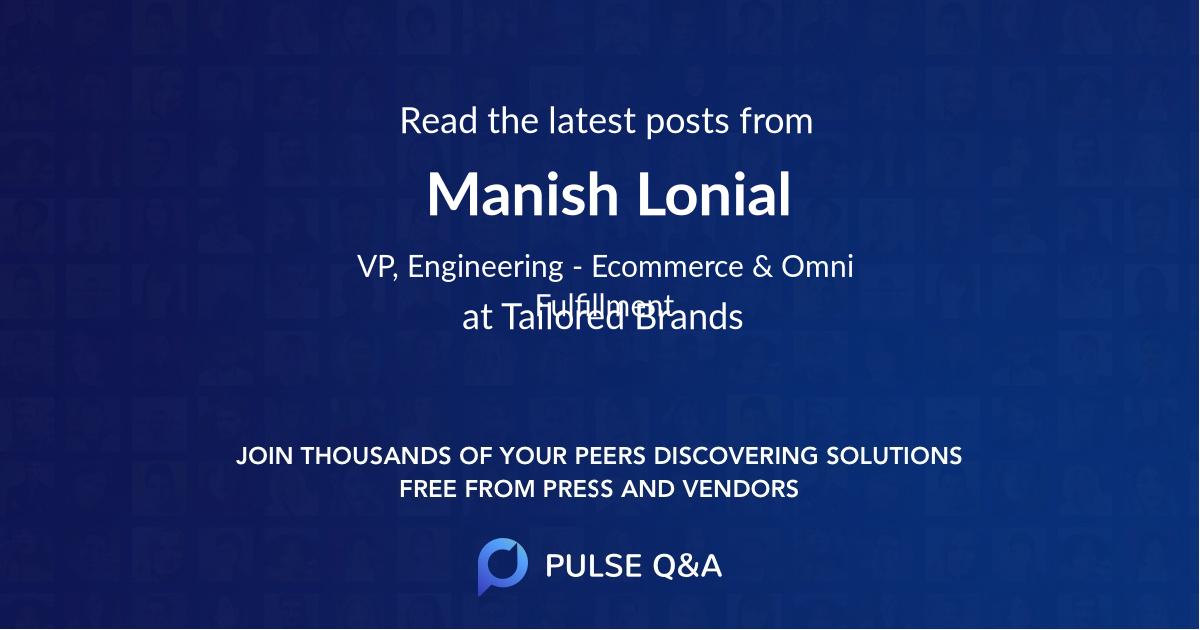 Manish Lonial