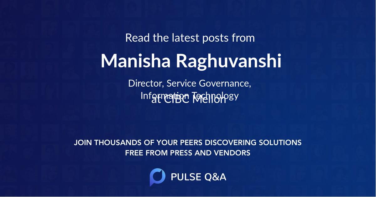 Manisha Raghuvanshi
