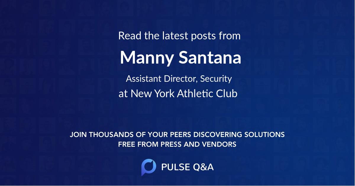 Manny Santana