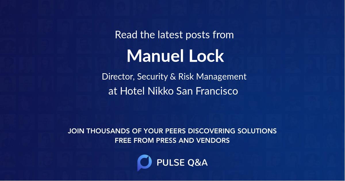 Manuel Lock