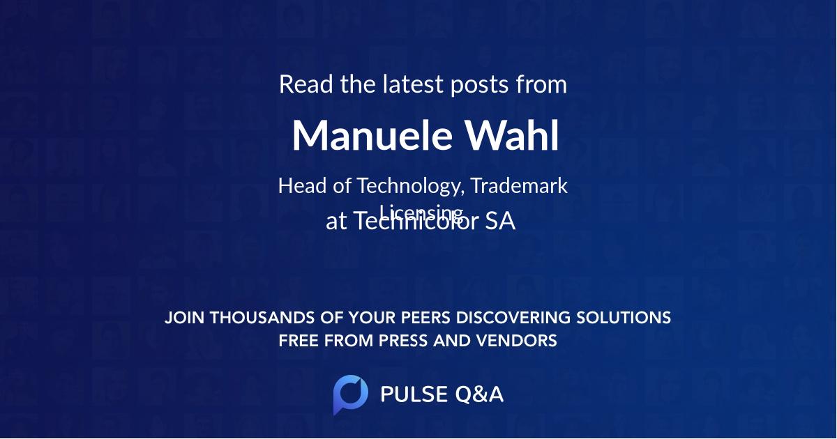 Manuele Wahl