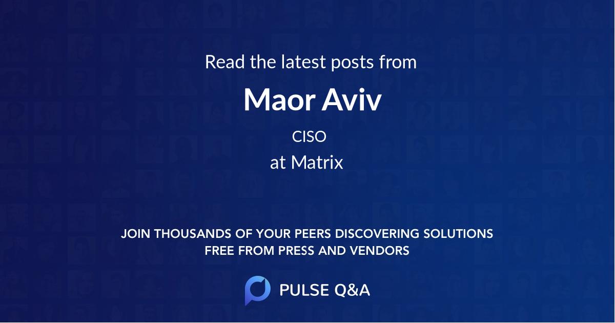 Maor Aviv