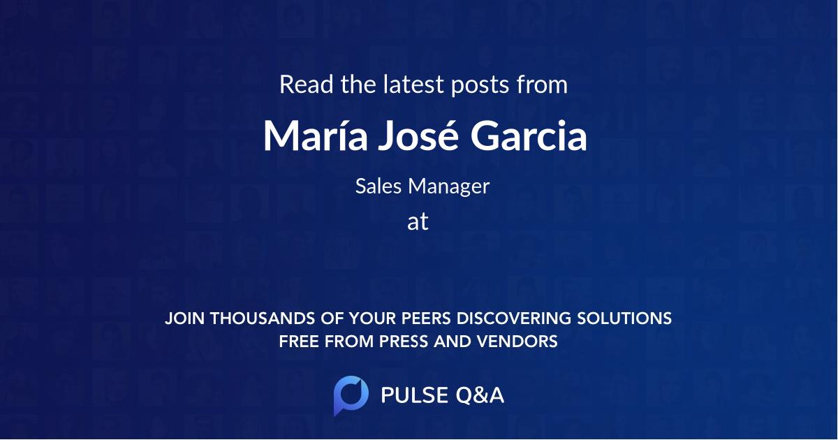María José Garcia