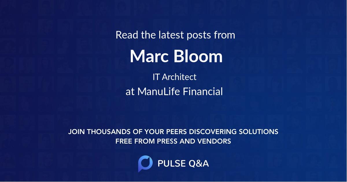 Marc Bloom