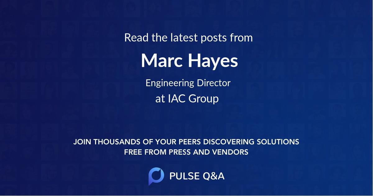 Marc Hayes