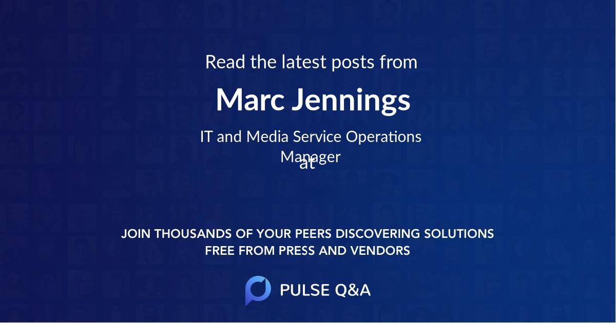 Marc Jennings
