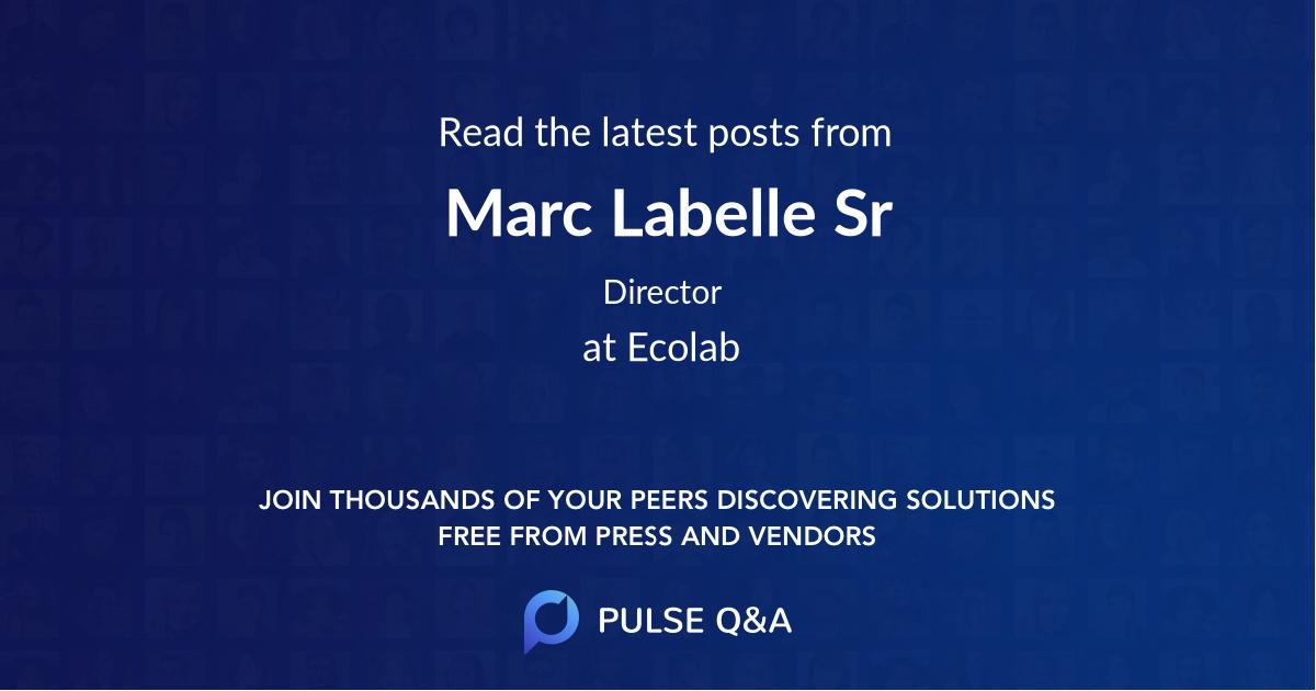 Marc Labelle Sr
