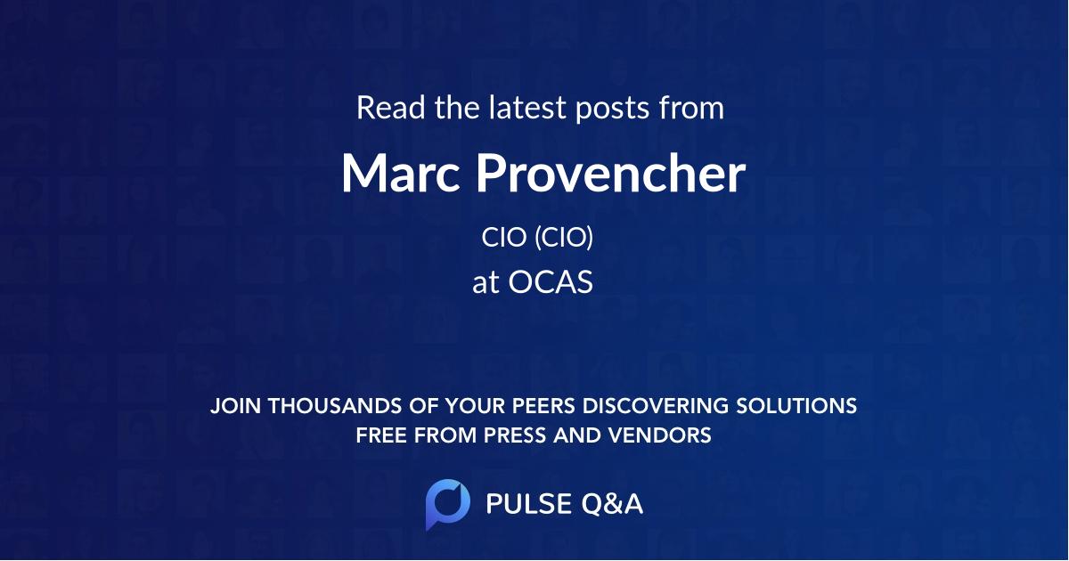 Marc Provencher