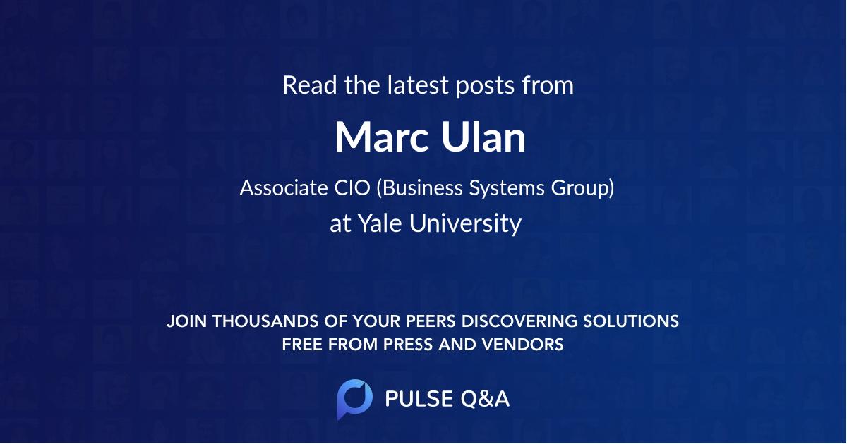 Marc Ulan