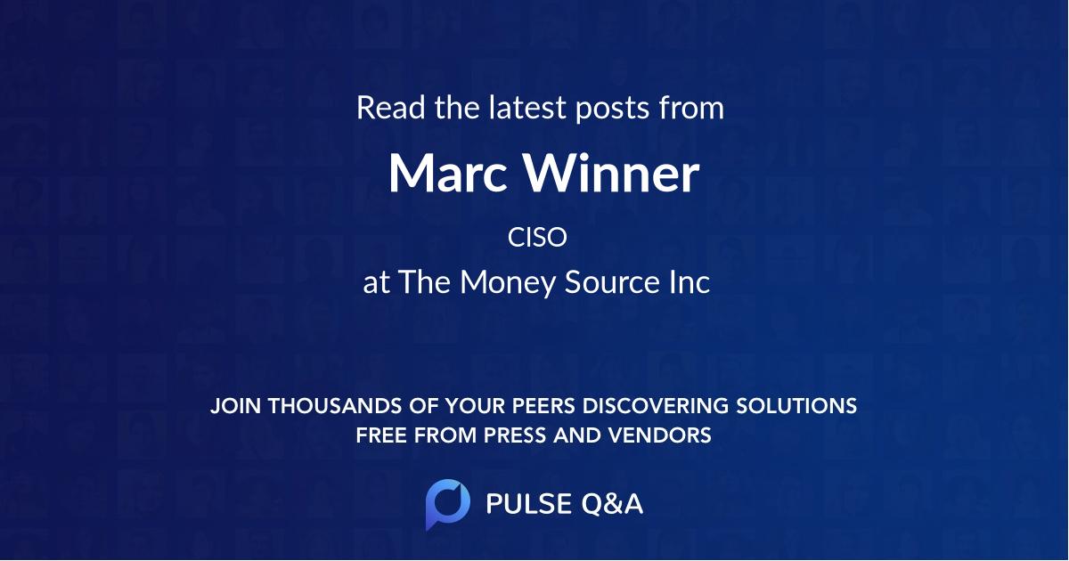 Marc Winner
