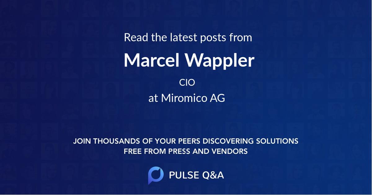Marcel Wappler
