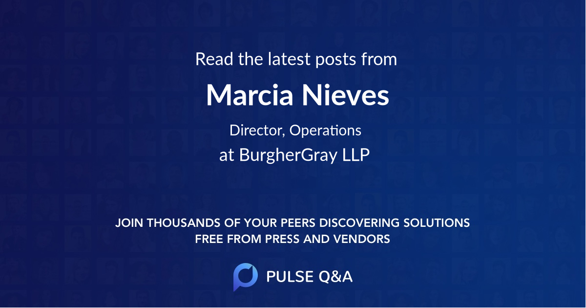 Marcia Nieves