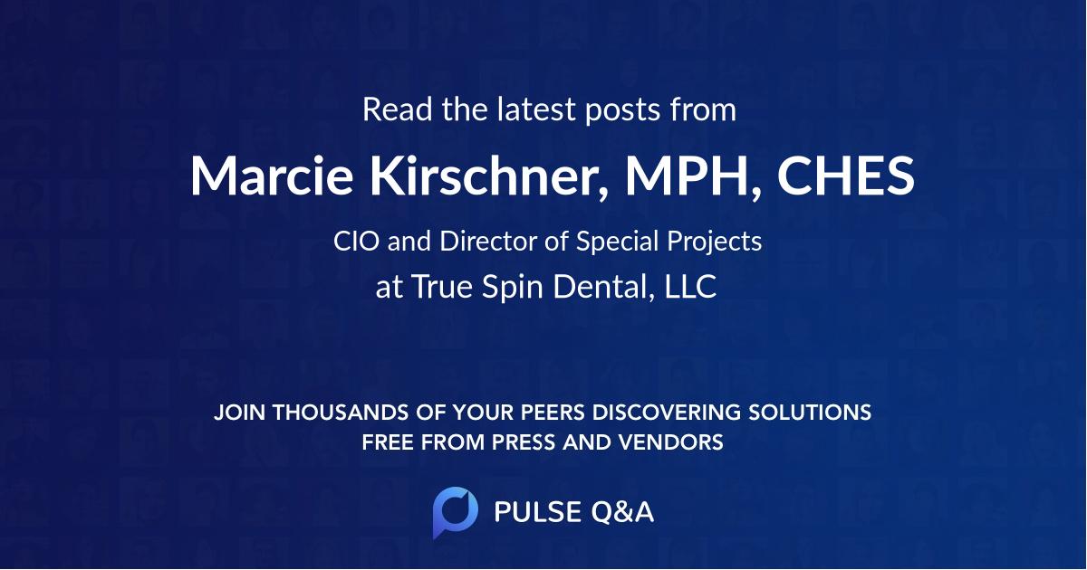 Marcie Kirschner, MPH, CHES