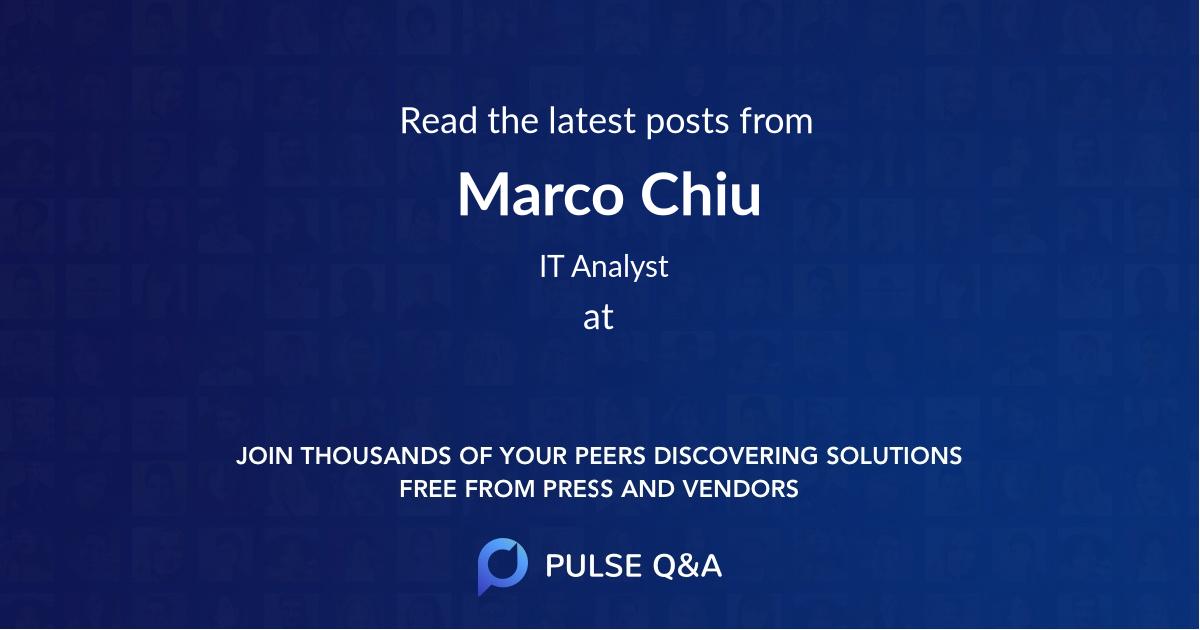 Marco Chiu
