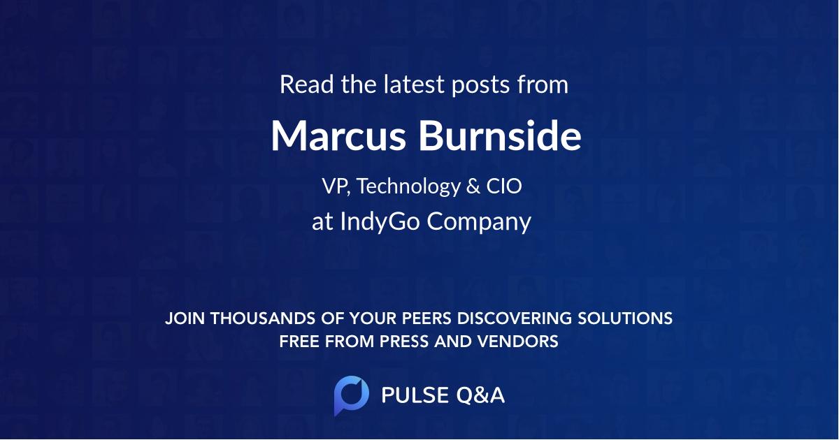 Marcus Burnside