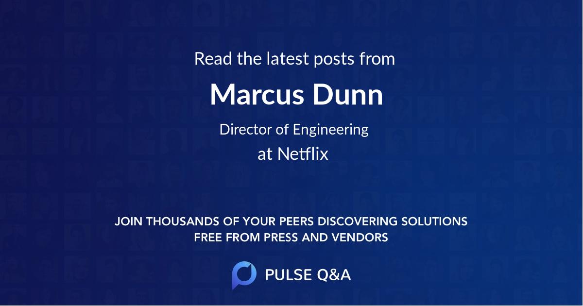 Marcus Dunn
