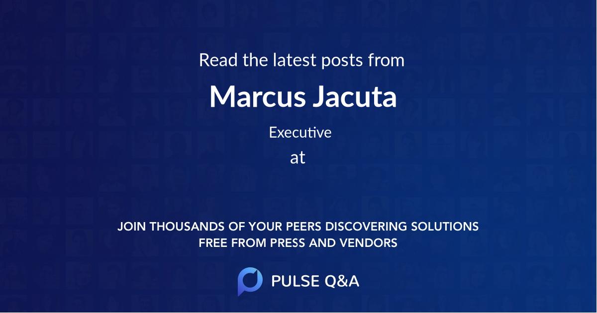 Marcus Jacuta