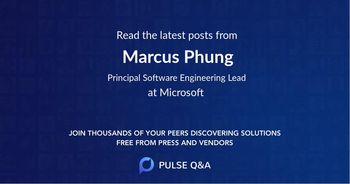 Marcus Phung