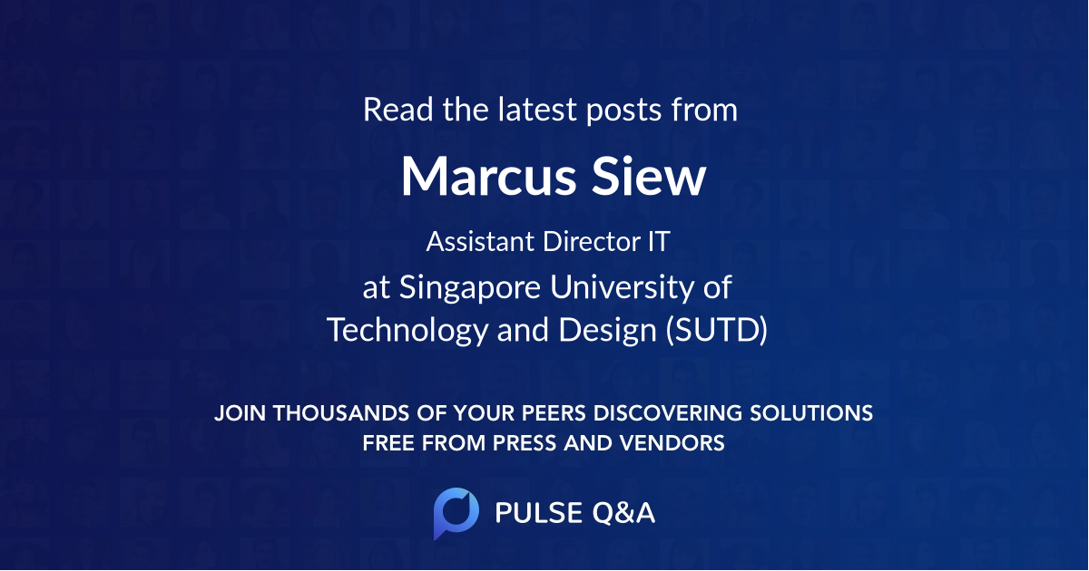 Marcus Siew