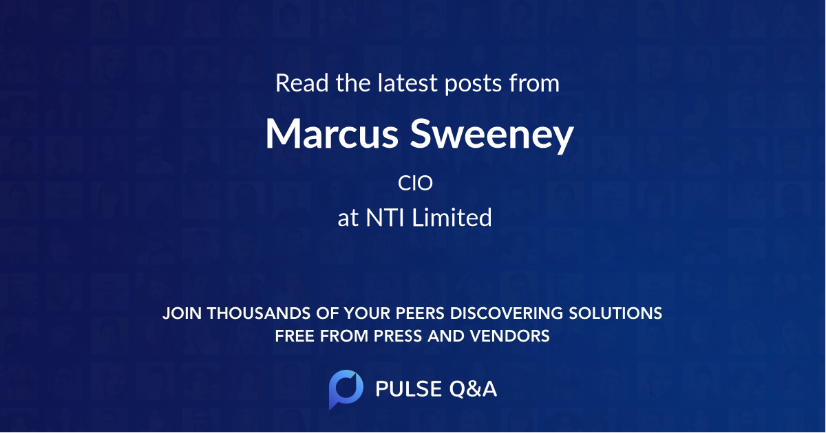 Marcus Sweeney