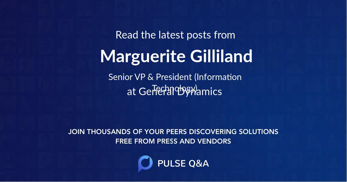 Marguerite Gilliland