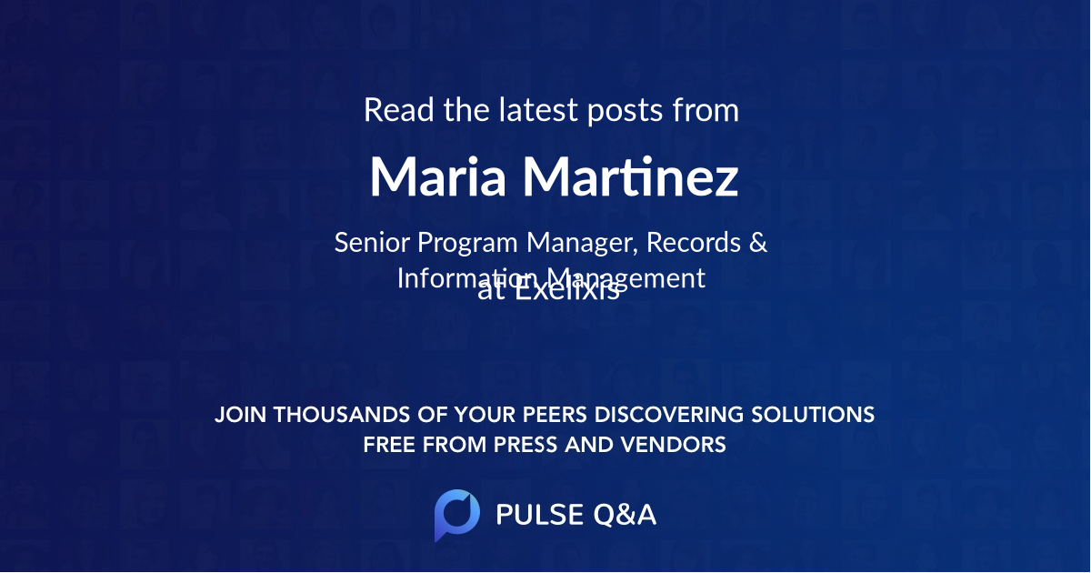 Maria Martinez