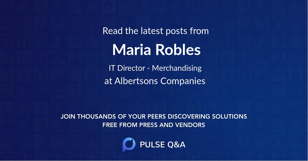Maria Robles