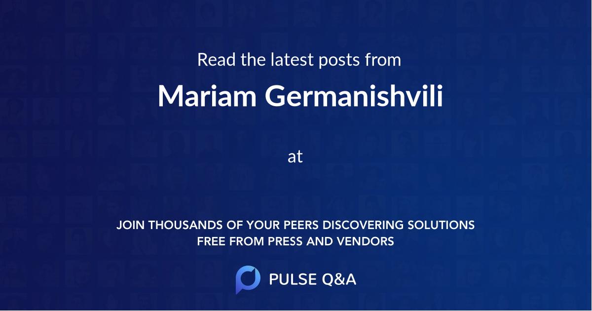 Mariam Germanishvili