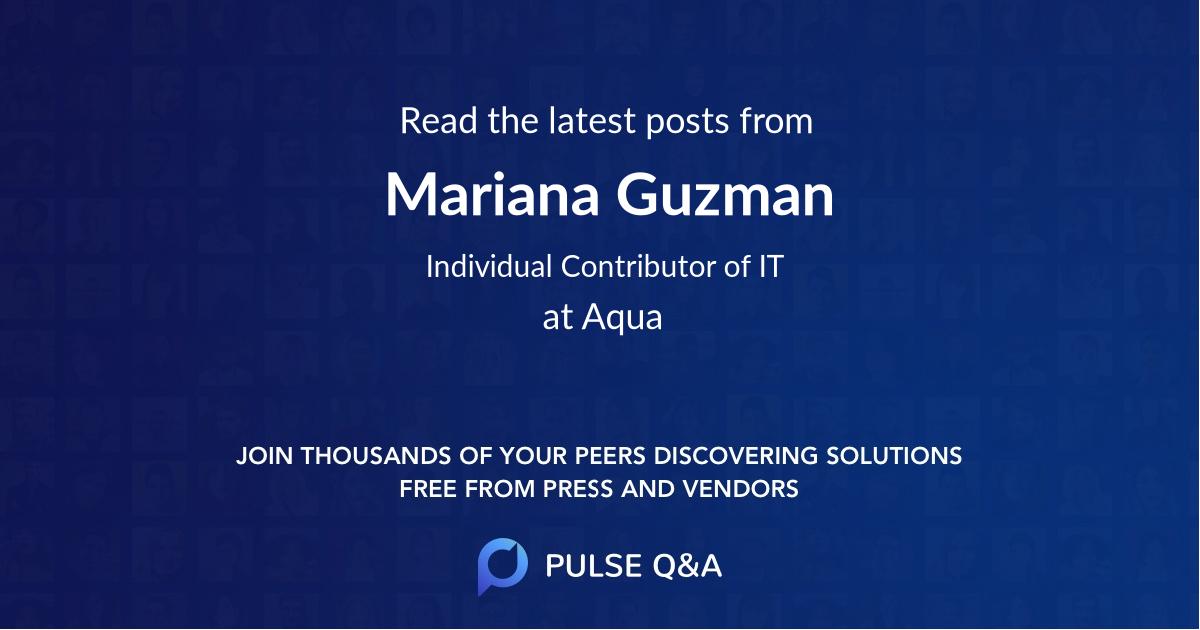 Mariana Guzman