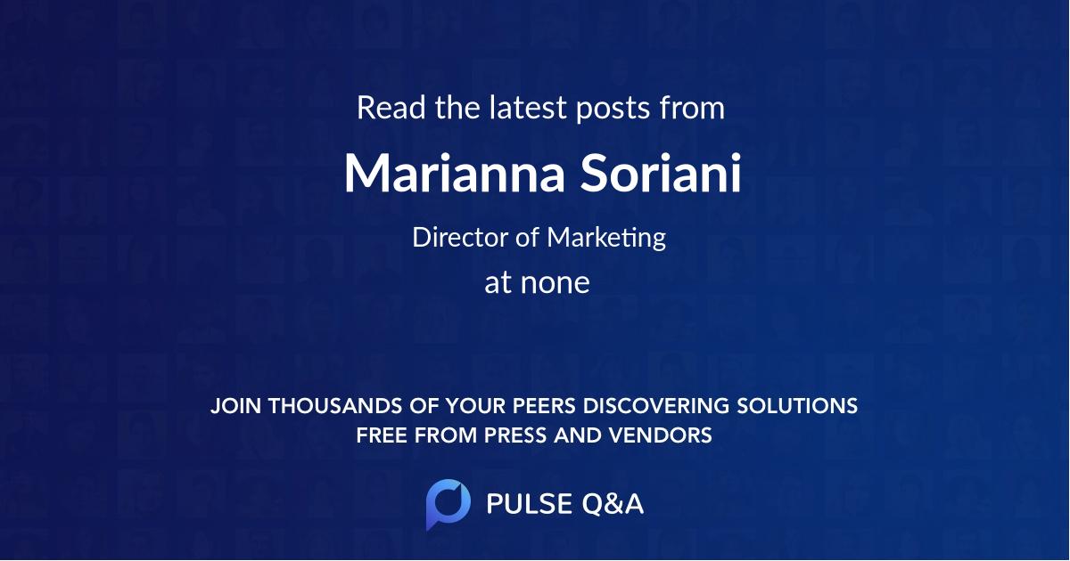 Marianna Soriani