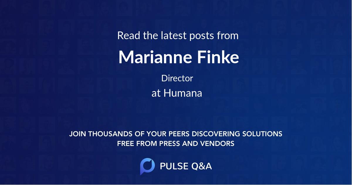 Marianne Finke