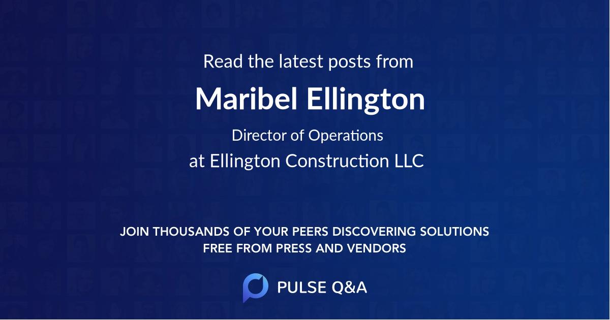 Maribel Ellington