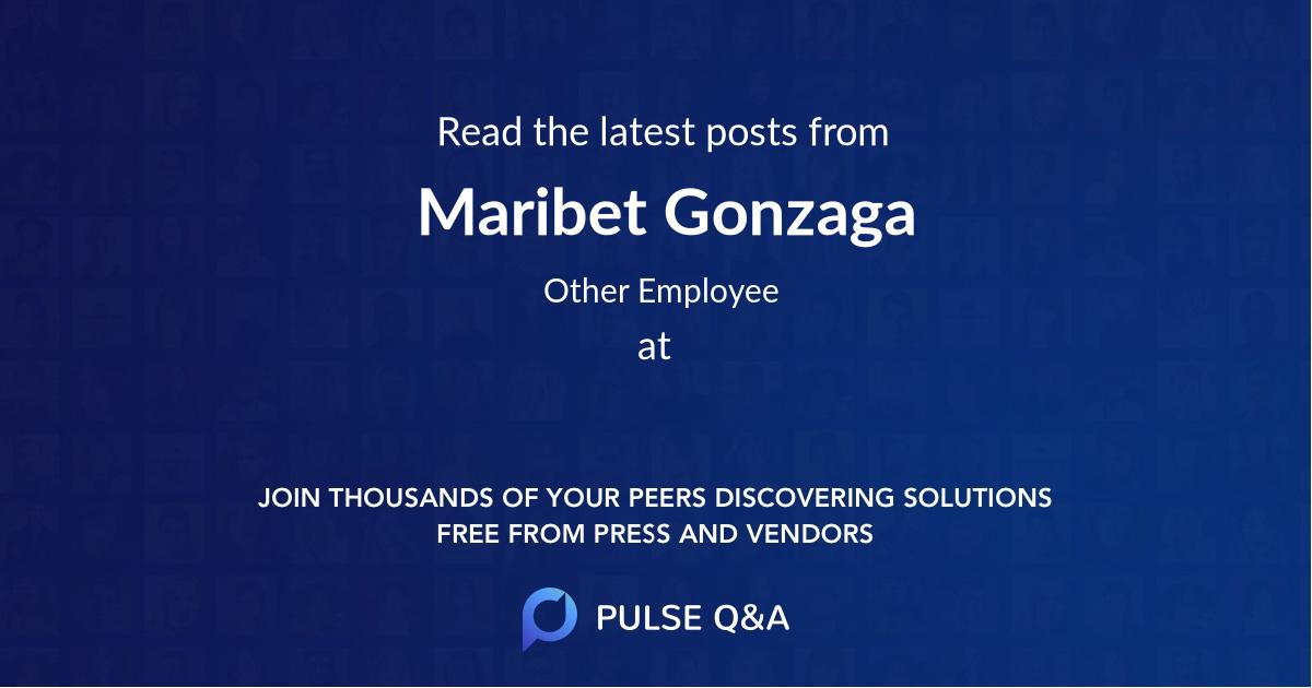 Maribet Gonzaga