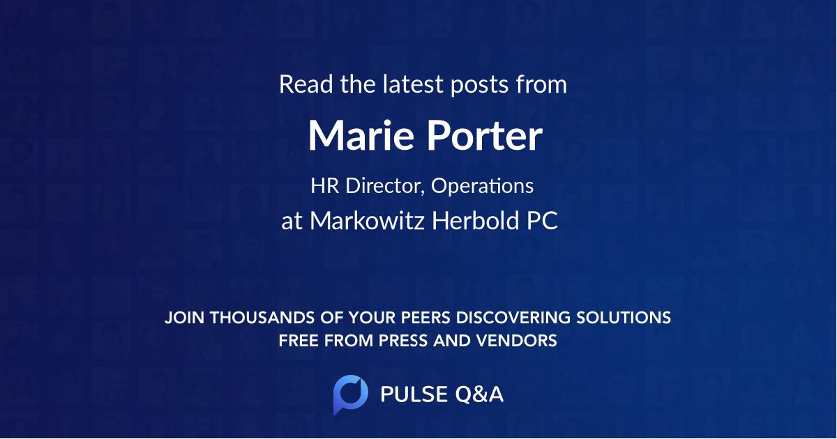 Marie Porter