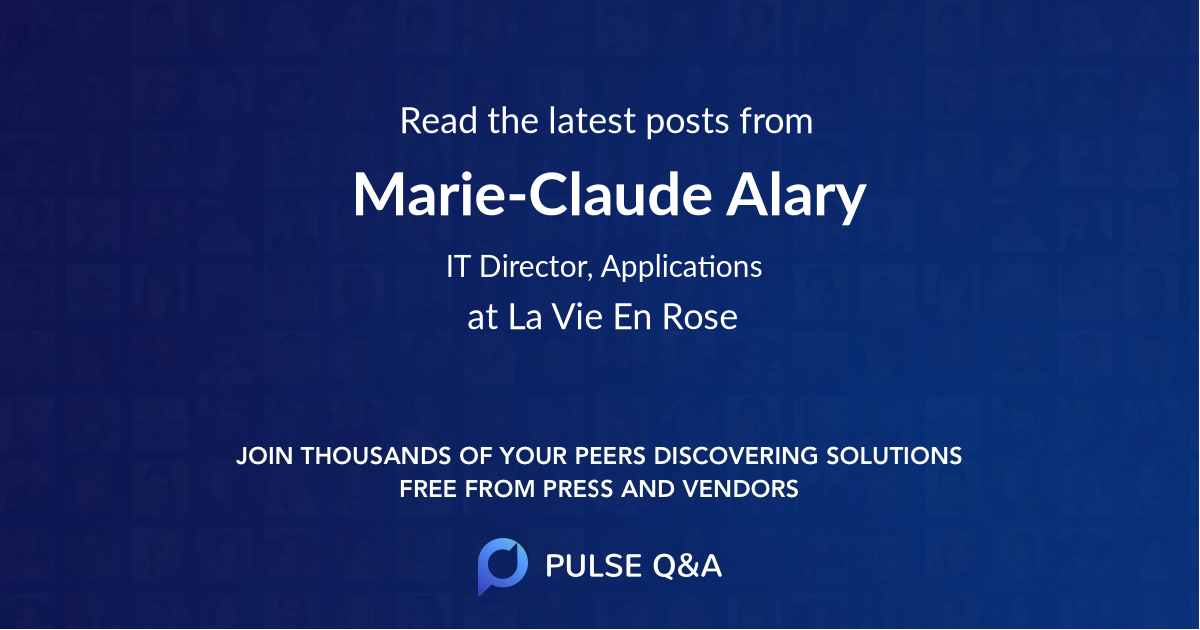 Marie-Claude Alary