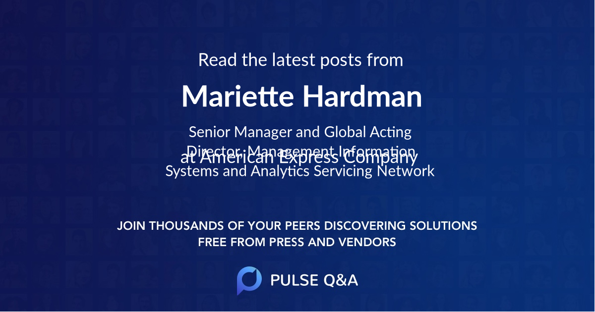 Mariette Hardman