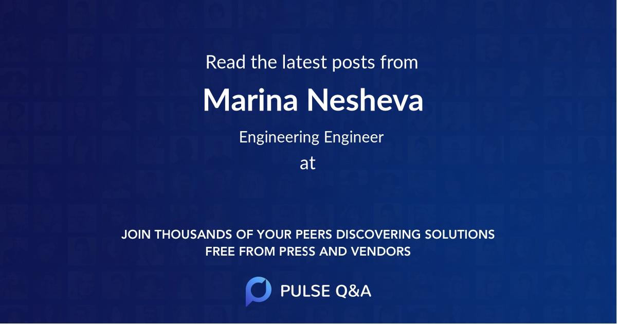 Marina Nesheva
