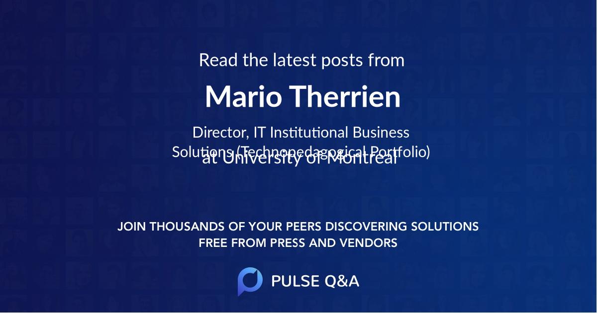 Mario Therrien