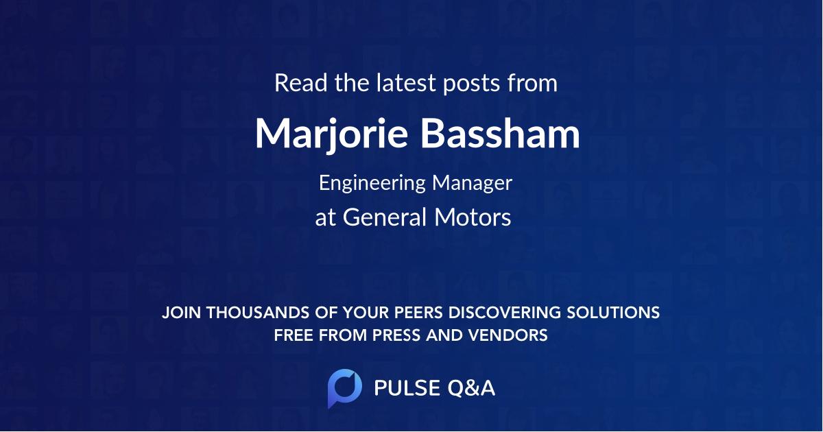 Marjorie Bassham