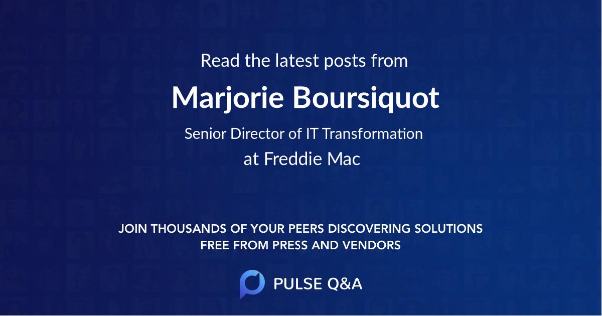 Marjorie Boursiquot