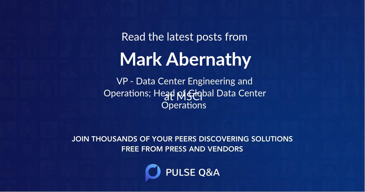 Mark Abernathy