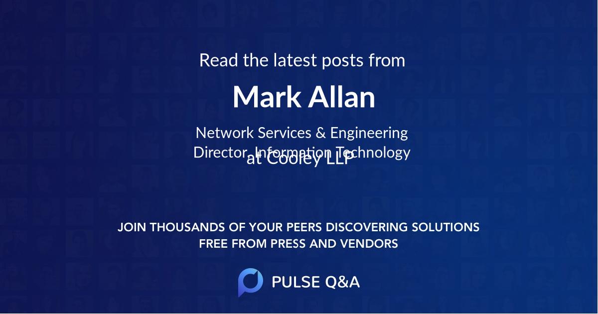 Mark Allan