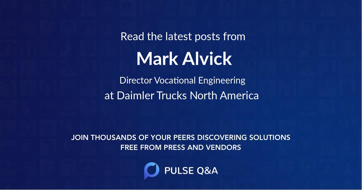Mark Alvick