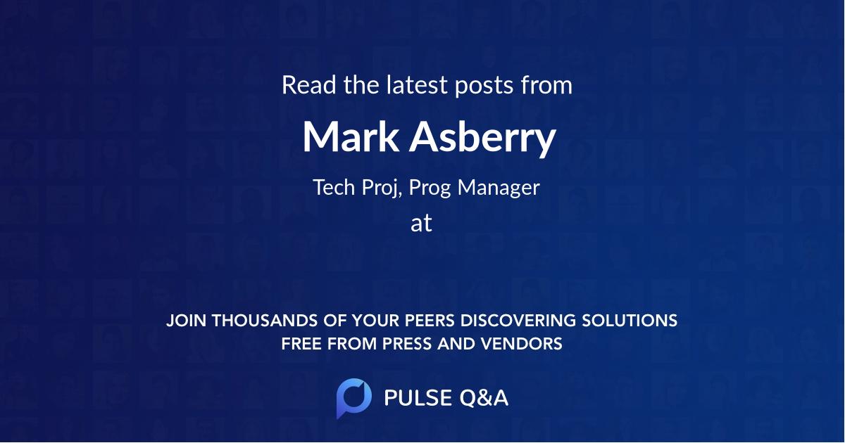 Mark Asberry