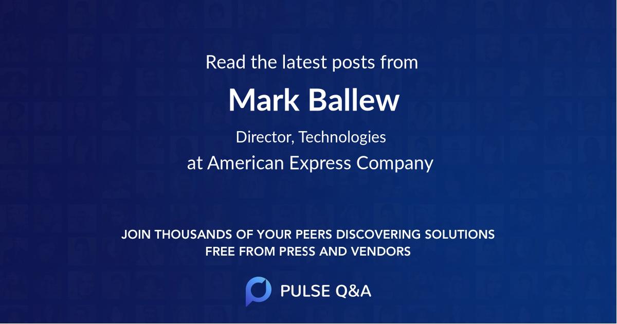 Mark Ballew