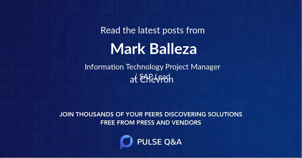 Mark Balleza
