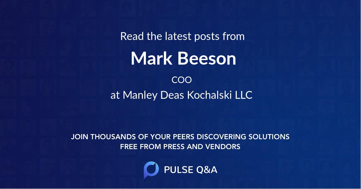Mark Beeson